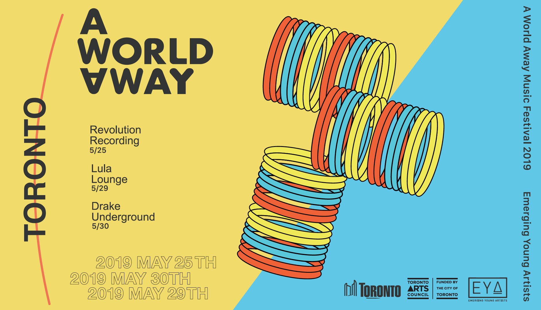 A WORLD AWAY INDIE MUSIC FESTIVAL 2019